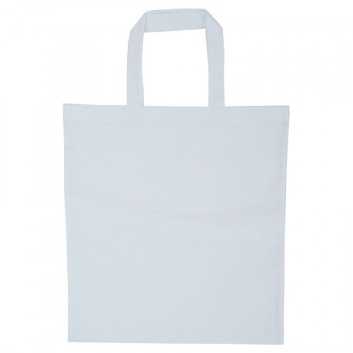Sac tote bag - blanc - 38 x 42 cm