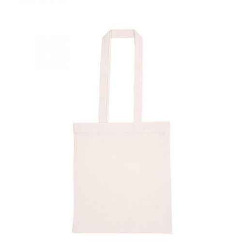 Sac tote bag avec anses longues - blanc - 38 x 42 x 38 cm
