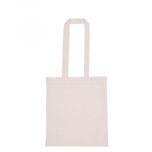 Sac tote bag avec anses longues - écru - 38 x 42 x 38 cm