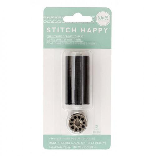 Fil à coudre noir Stitch Happy