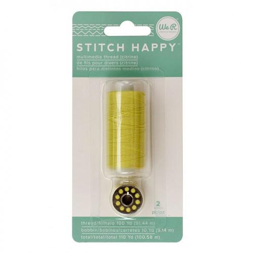 Fil à coudre vert citron Stitch Happy