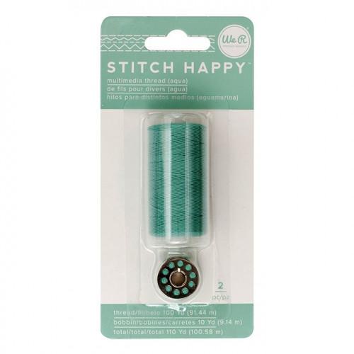 Fil à coudre vert d'eau Stitch Happy