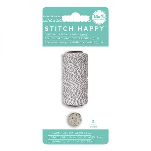 Fil à coudre bicolore gris Stitch Happy