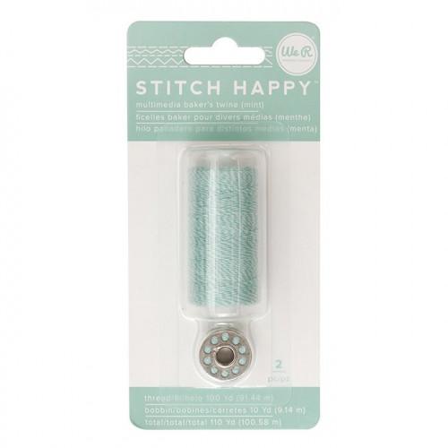 Fil à coudre bicolore vert Stitch Happy