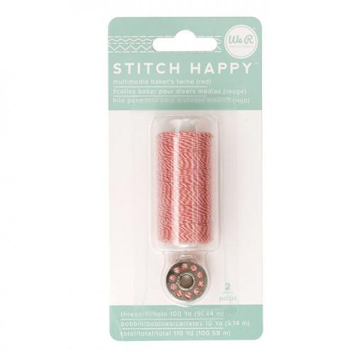 Fil à coudre bicolore rouge Stitch Happy