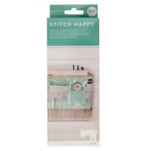Couverture pour machine à coudre Stitch Happy