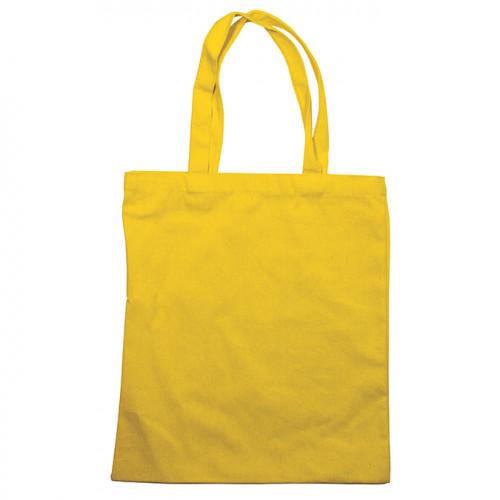 Tote bag jaune moutarde - 34 x 39 cm