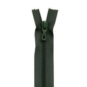Fermeture « Eclair » nylon non séparable 55 cm - Lichen