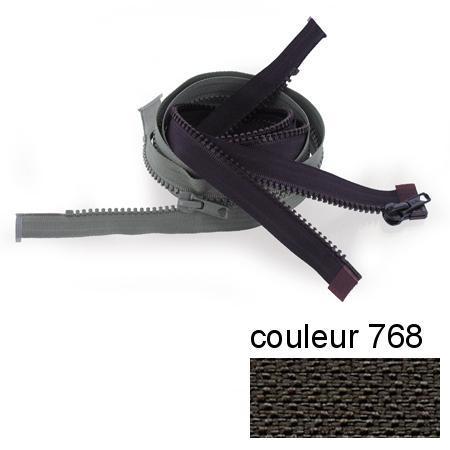Fermeture « Eclair » nylon séparable 55 cm - Treillis