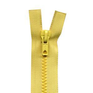 Fermeture « Eclair » nylon séparable 65 cm - Jaune paille