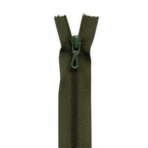 Fermeture « Eclair » nylon non séparable 55 cm - Chasse