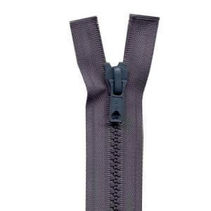 Fermeture « Eclair » nylon séparable 45 cm - Gris foncé