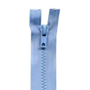 Fermeture « Eclair » nylon séparable 45 cm - Bleu layette