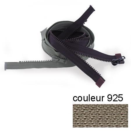 Fermeture « Eclair » nylon séparable 45 cm -  Grège