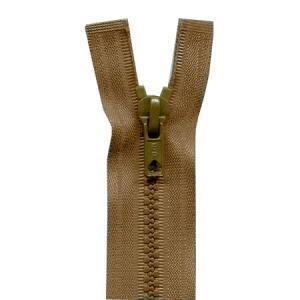 Fermeture « Eclair » nylon séparable 55 cm - Beige moyen