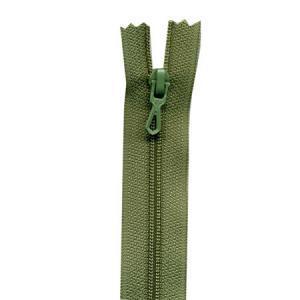 Fermeture « Eclair » nylon non séparable 50 cm - Saule