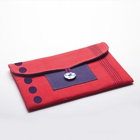 Izink peinture textile - Rouge velours - 50 ml