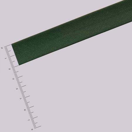 Biais satin - Vert Foncé - 2 cm