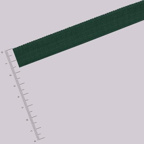 Ruban gros grain - 1,6 cm - Vert sapin
