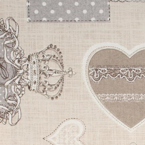 Coupon de Coton - Royal Gris - 30 x 90 cm