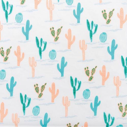 Coupon de tissu - Cactus - 50 x 140 cm