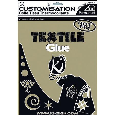 Feuille de colle textile thermocollante double face
