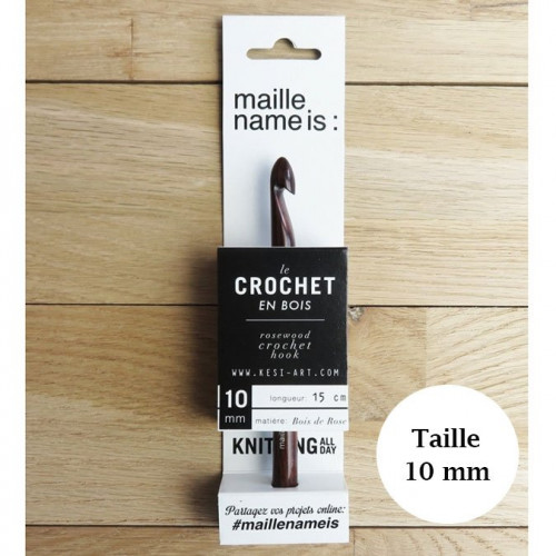 Crochet - 10 mm