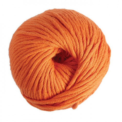 Fil Coton Natura XL - 100 g - orange