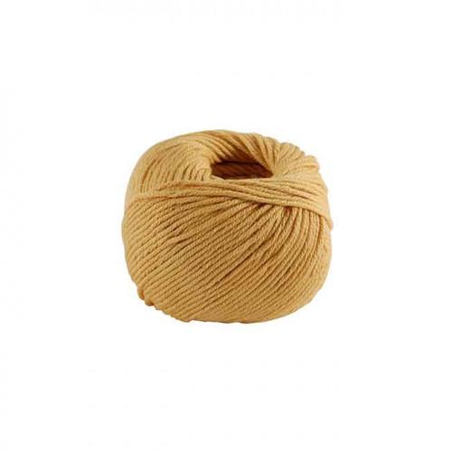 Fil à tricoter, crocheter Natura Medium - tangerine 10 - 50 g