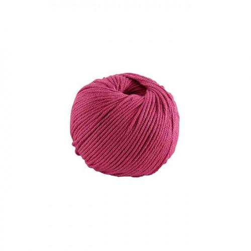 Fil à tricoter, crocheter Natura Medium - fuchsia 444 - 50 g