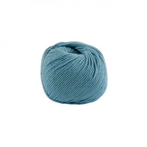 Fil à tricoter, crocheter Natura Medium - bleu-gris 77 - 50 g