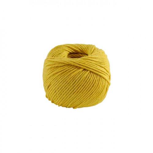 Fil à tricoter, crocheter Natura Medium - bouton d'or 99 - 50 g