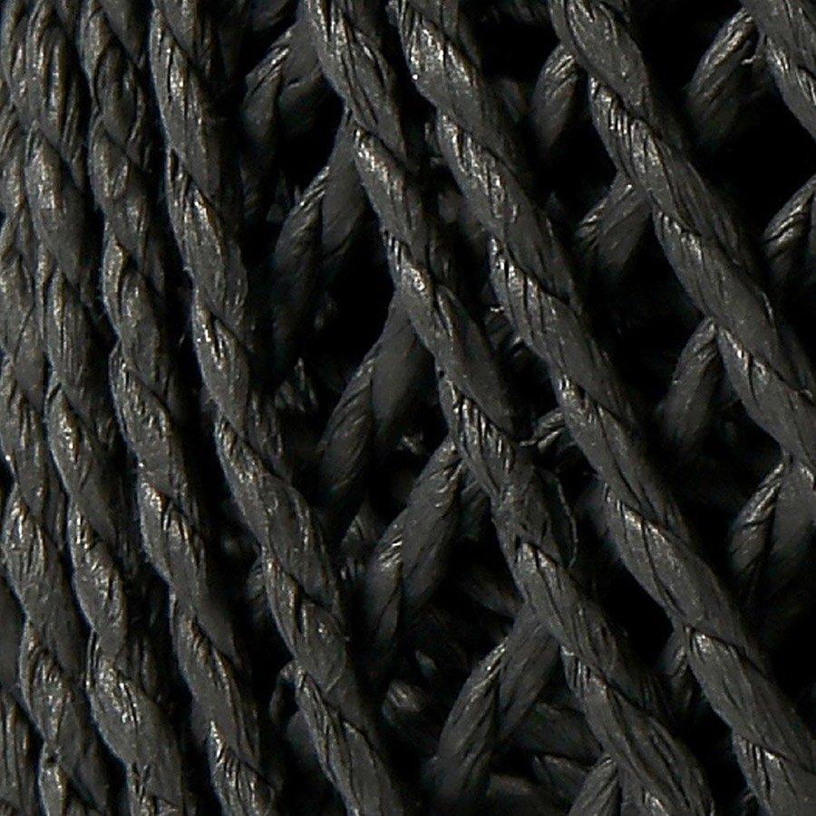 Ficelle de papier -2,5 à 3 mm - noir - 150 g