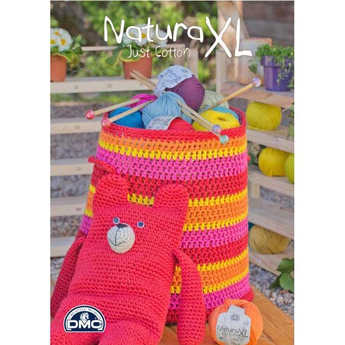 Fil Coton Natura XL - 100 g - mauve