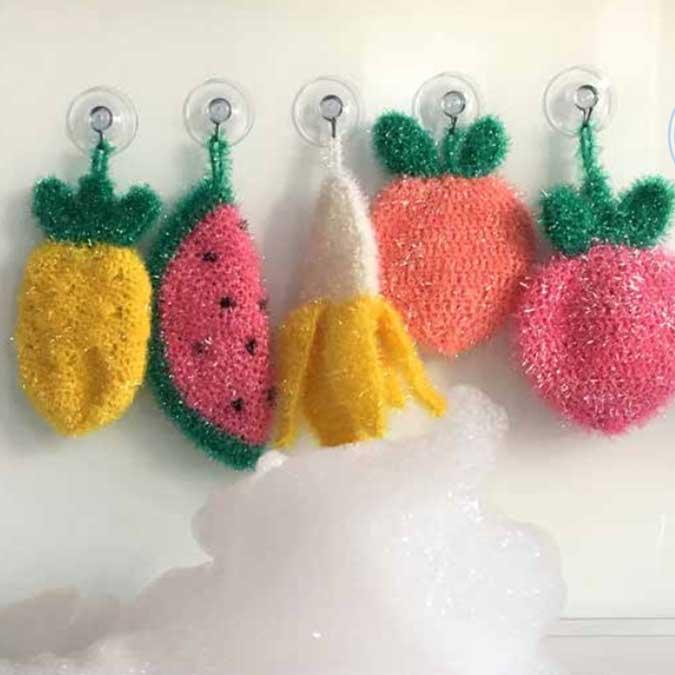 Creative Bubble - Laine éponge à tricoter - Melon - 90 m