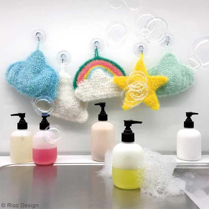 Creative Bubble - Laine éponge à tricoter - Menthe - 90 m