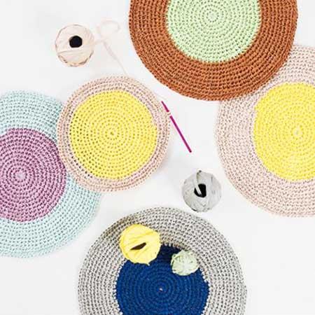 Creative Paper - Papier à crocheter - Pastel Mix - 55 m