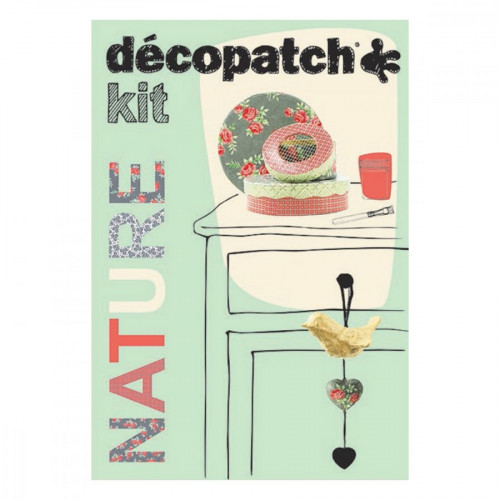 Décopatch - Kit Nature