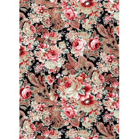 Feuille Décopatch - Roses - 30 x 40 cm