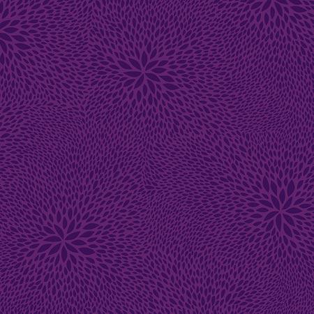 Feuille Décopatch - Rosaces sur fond violet - 652 - 30 x 40 cm