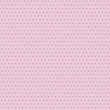 Feuille Décopatch - Pois sur fond rose - 659 - 30 x 40 cm