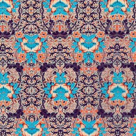 Feuille Décopatch - Fleurs baroques - 695 - 30 x 40 cm