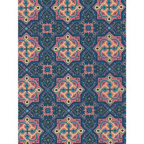 Feuille Décopatch - Motifs orientaux - 705 - 30 x 40 cm