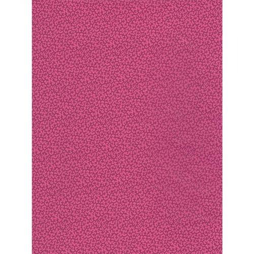 Feuille Décopatch - Motifs fuchsia et violets - 710 - 30 x 40 cm