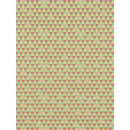 Feuille Décopatch - Mini alvéoles - 713 - 30 x 40 cm