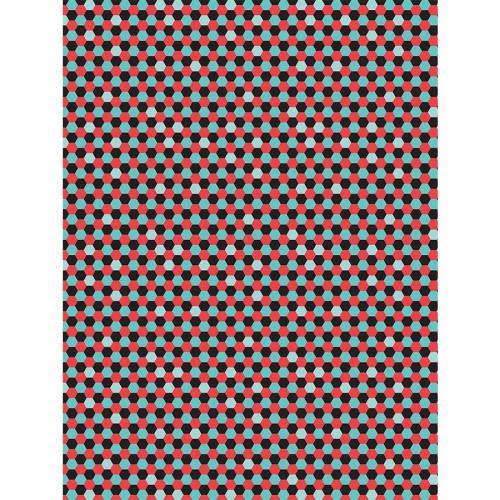 Feuille Décopatch - Alvéoles - 719 - 30 x 40 cm