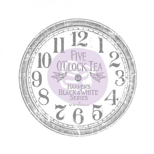 Rub-on Decor - Horloge - 30,5 cm