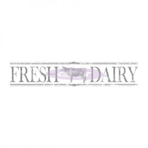 Rub-on Decor - Fresh Dairy - 152,4 x 29,2 cm