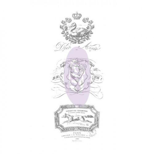 Rub-ons Decor - Designs français #4 - 11,4 cm