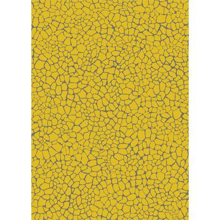 Feuille Decopatch - Effet mosaïque doré - 30 x 40 cm